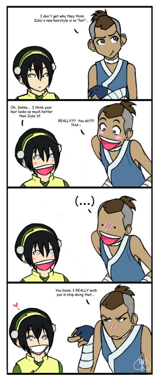 haha its funny cuz shes blind:P <3 Avatar