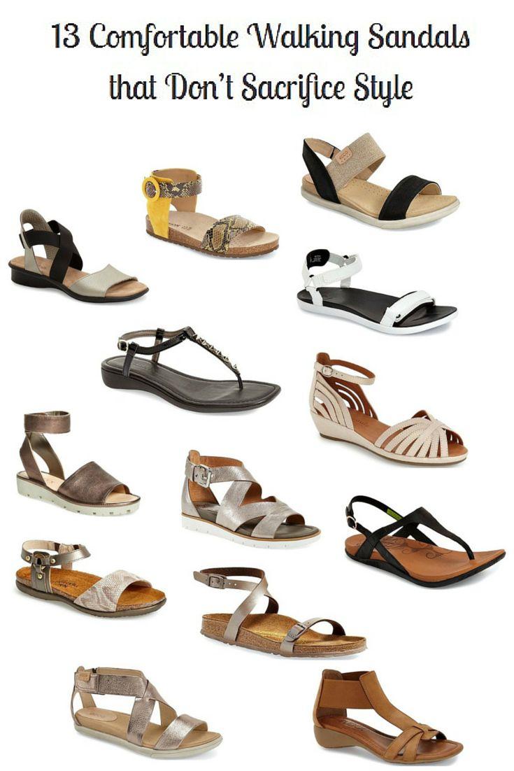 Super Comfy Brown Walking Shoe