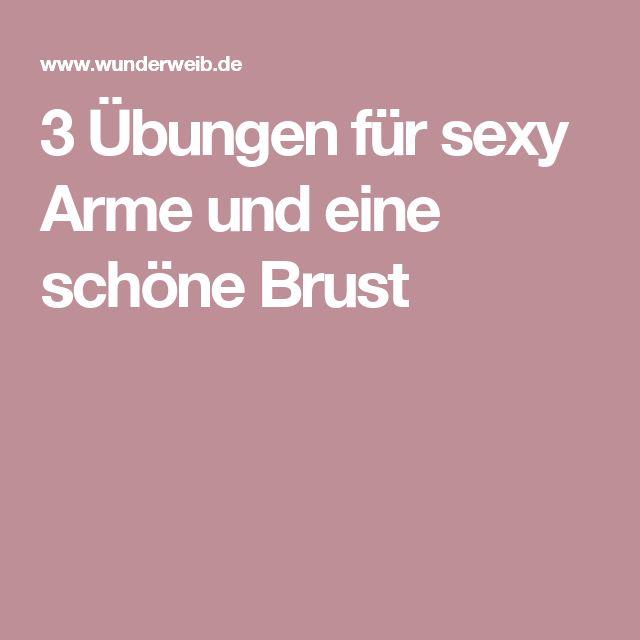 3 Übungen für sexy Arme und eine schöne Brust