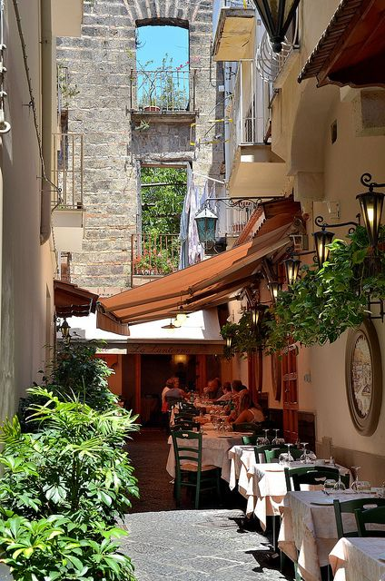 Sorrento, Italy @Ryan Eric I think we ate here!! Remember the calzone and the eggplant pasta??