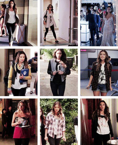 favorite outfits: emily fields (season 5)