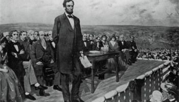 Abraham Lincoln's Gettysburg Address (1863)