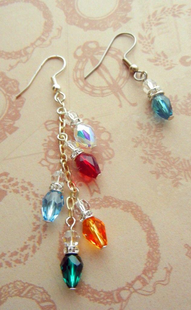 Swarovski Crystal Holiday Lights via rings-things….