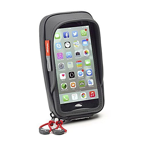 From 33.12 Givi S957b Waterproof Smart Phone Holder For Motorcycle Handlebar Iphone/galaxy