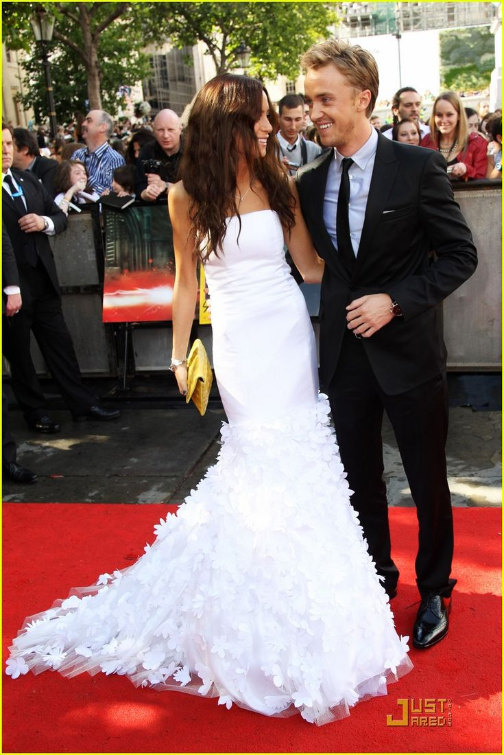 Tom Felton and Jade Olivia - They're so adorable!!! :)
