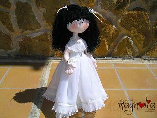Muñeca de comunión a la venta