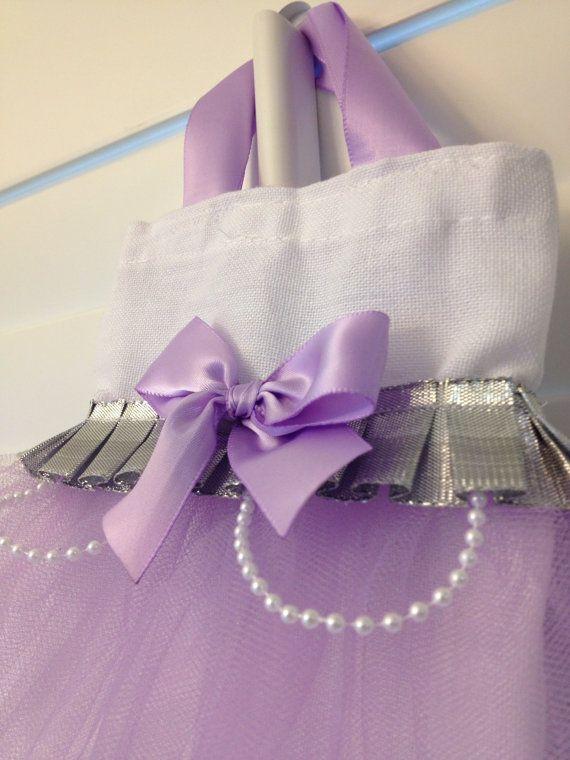Princes sofia tutu bag - inspired by Sofia the first Birthday Party Invitations - Princess Sofia on Etsy, $4.85