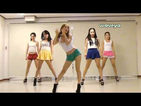 PSY싸이 - GANGNAM STYLE (강남스타일) Waveya 웨이브야 Korean dance team~Talk shit all  you want, but I actually dig the song and the dance routine :) lol