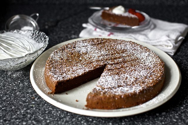 chocolate buckwheat cake ++ smitten kitchen #glutenfree