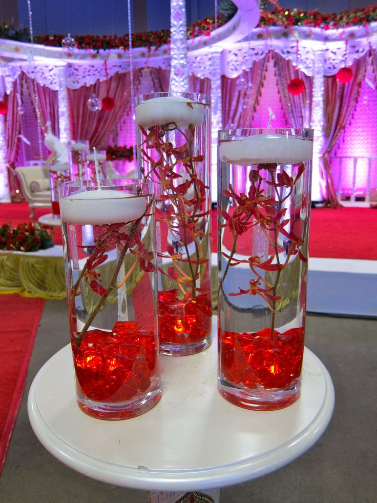 Display of wedding decor at Dulhan Expo in Somerset, NJ