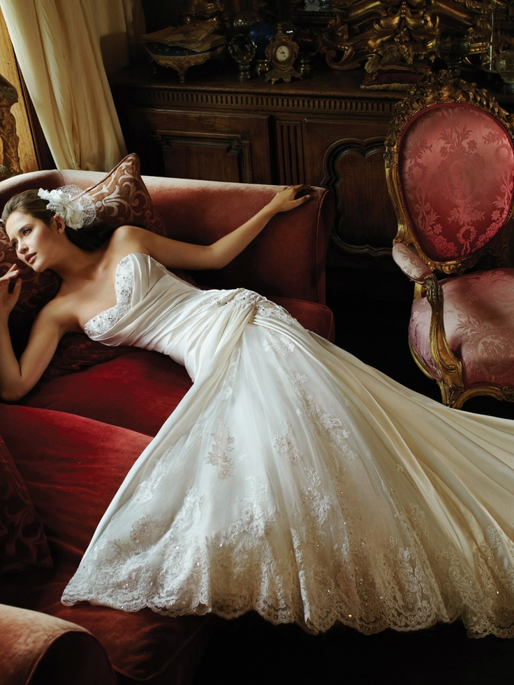17 best images about in the running on pinterest mon for Tulip wedding dress style