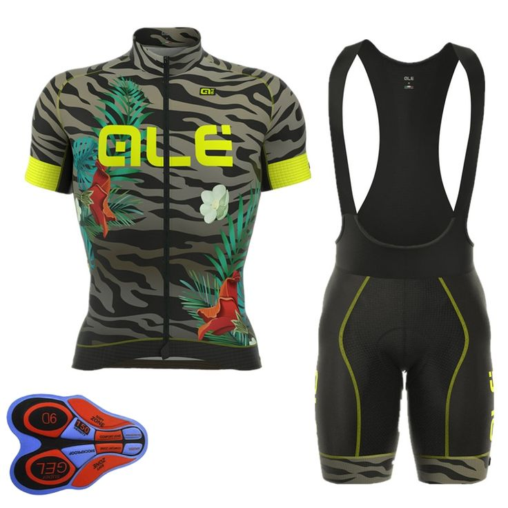 2017 Ale Cycling Jersey Men Short Sleeve Breathable Maillot Ciclismo MTB Mountain Bike Clothing 5 Styles