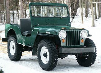 1947 Willy's Jeep. I'm fixinto put a towbar on mine and take it to the new carport at the lake!