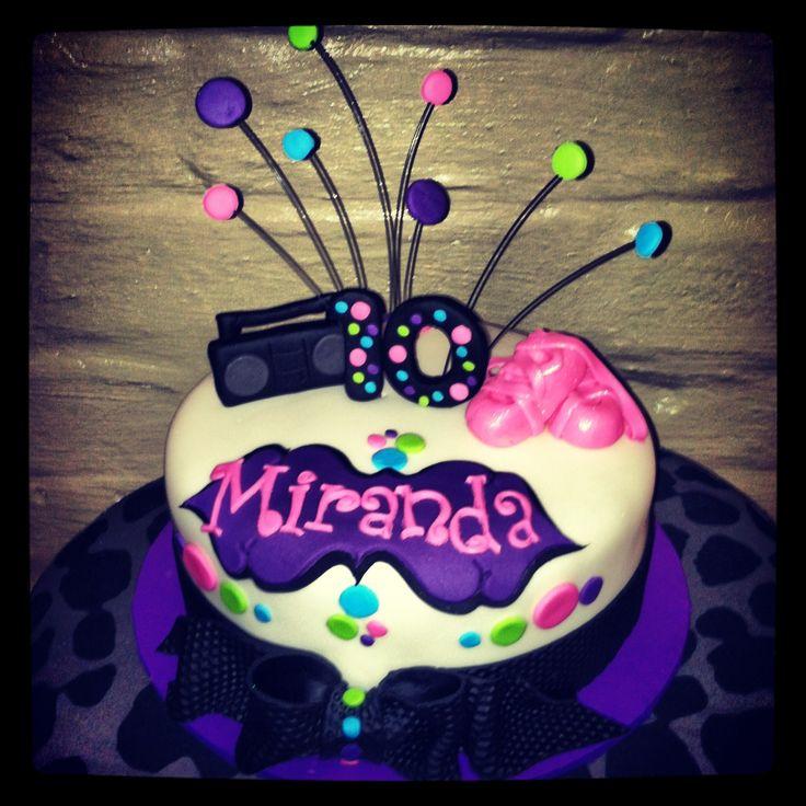 Hip Hop Ballet Cake Cakes Cupcakes Pinterest