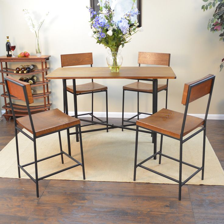 Rectangular Pub Tables Amazon Com: Bar Height Dining Table Rectangle