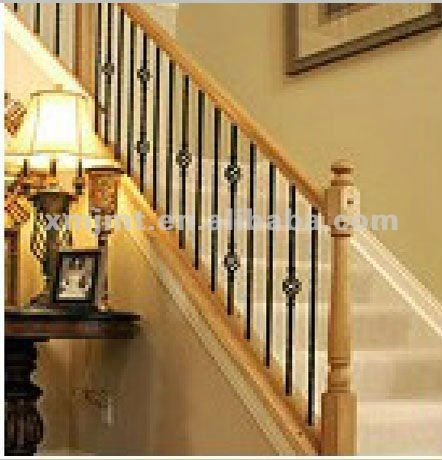 29 best images about iron railings on pinterest wrought for Indoor balcony railing