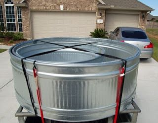 Fantastic blog on how to install stock tanks for garden. C a y l a w r a l: Stock tank gardens from start to finish