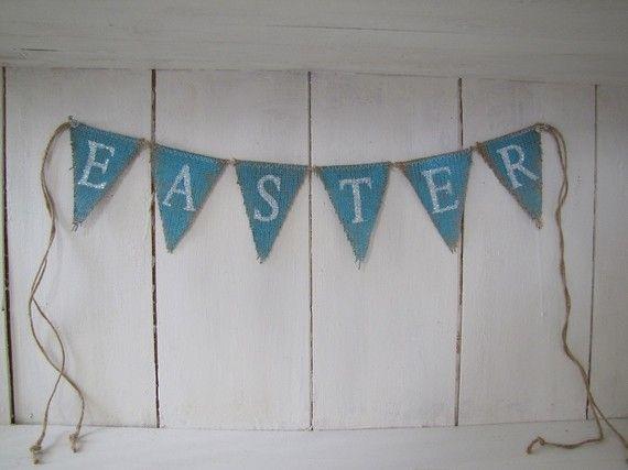 easter...glittered burlap banner...miniEaster Banners, Easter Glitte Burlap, Burlap Banners Minis, Easter Decor, Burlap Decor, Easter Burlap, Crafts, Spring East, Easter Ideas