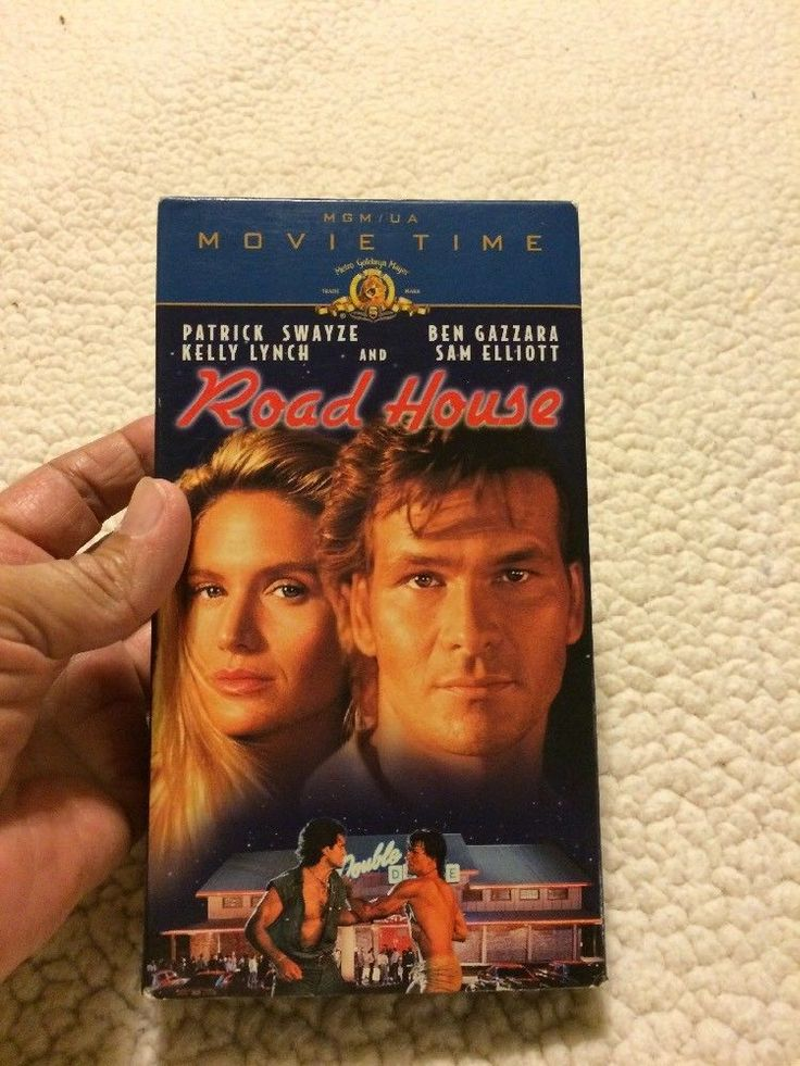 ROAD HOUSE - Patrick Swayze, Kelly Lynch, Sam Elliott, Ben Gazzara  - VHS  | eBay