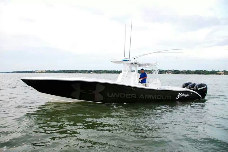 36' Yellowfin trip 350 Merc's. Under Armor fishing team - Seatech Marine Products Daily Watermakers