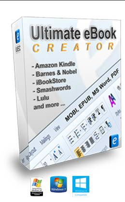 Ultimate eBook Creator For Amazon Kindle Best eBook Creator software prefectly formatted MOBI and EPUB eBooks for Amazon Kindle, iBookstore, Barnes and Noble, Smashwords, LULU.  Easily embedd AUDIO and VIDEO in your eBooks. #AmazonKindle, #EBookCreationSoftware, #EbookCreator, #EBookFormating, #EBookSoftware, #Epub, #HowToCreateEBooks, #KindleEBookCreator, #KindleEBookGenerator, #Mobi, #PdfEBooks, #PubFormatting, #Uec, #UltimateEbook, #UltimateEBookCreatorDownload, #Ultimat