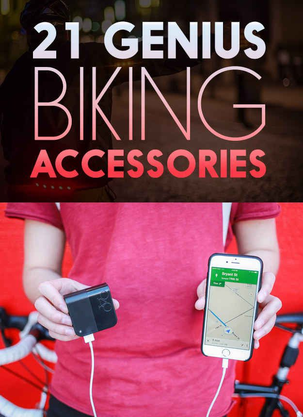 21 Insanely Clever Products You Need For Your Bike