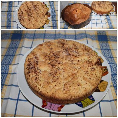 Pão de Ló Fernanda.... Bolo de maçã.... By MJ
