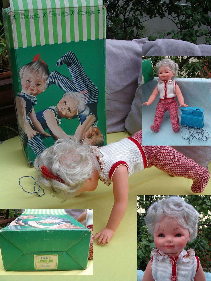Bambola CAPRIOLINA FURGA anni 60  | Giocattoli e modellismo, Bambole e accessori, Bambolotti e accessori | eBay!