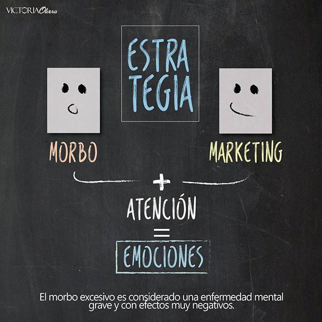 """Para difundir con impacto """"normalmente"""" algunos usan el morbo para generar en la audiencia: Atención, Emoción, Imaginación y Conexión; y el morbo lo hace.   Advertencia: el morbo excesivo es considerado una enfermedad mental grave y con efectos muy negativos. ¿Qué piensas de crear morbo, para llamar la atención al consumidor? #Marketing #Emociones #Mente #Estrategia"""