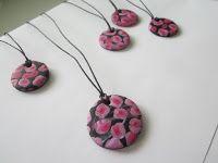 Polymer pendants by pinterest.com/miiairene