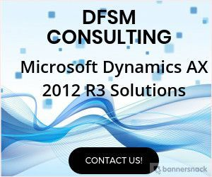 DFSM Consulting provides industry-leading business software and Microsoft Dynamics AX 2012 R3 Solutions,implementation planning to deliver best-in-class and competitive consulting engagements and project management.
