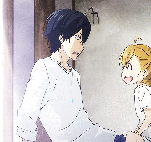 Barakamon: the joy of smiling children