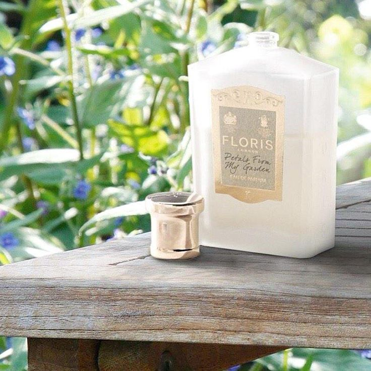 The new Floris fragrance... a great way to welcome spring...