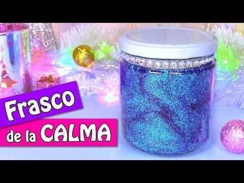 Manualidades Navidad: FRASCO de la CALMA - Innova Manualidades - YouTube