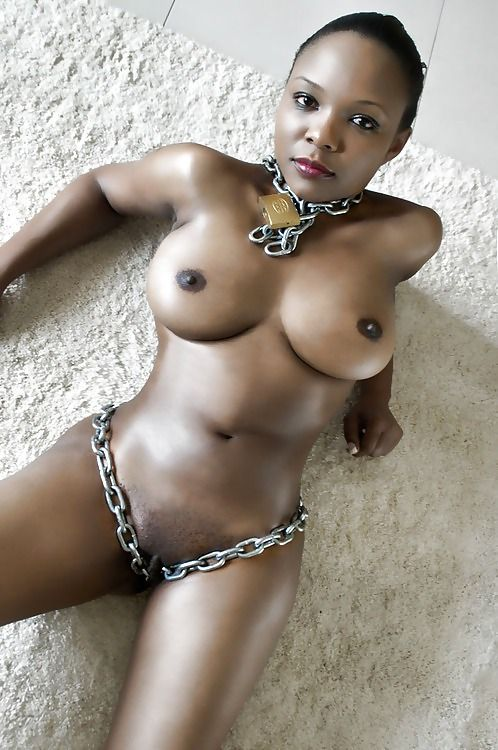 Ebony naked women with sex toys — photo 15