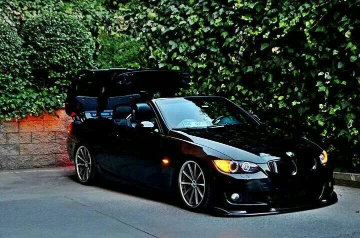 bmw e93 3 series black slammed bmw ultimate driving