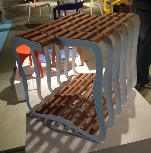 Perfekt Fresh From Brasil Displayed Brazilian Talent, Including The E3 Stool From  The Team At Aleph