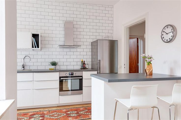 Image result for white veddinge kitchen cabinet light grey quartz countertop
