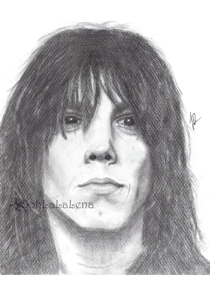 Jeff Keith Tesla Band 80s Rock Star Pencil Portrait by OohLaLaLena, $18.00