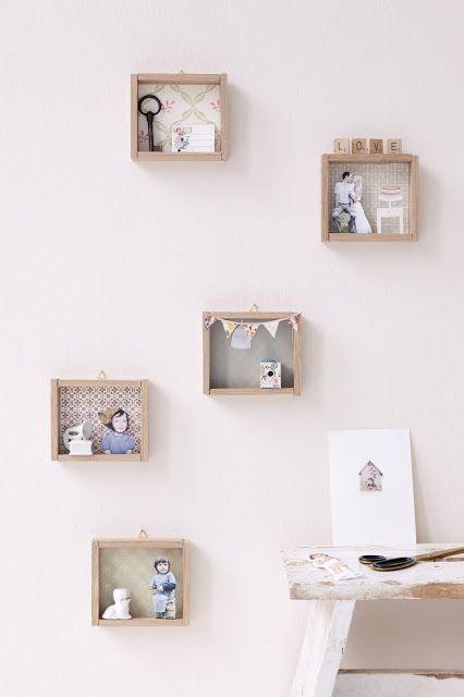 diy frame boxes
