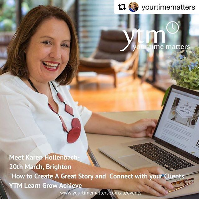 Its no secret that @yourtimematters Brighton events are one of my favourites so its a double bonus to have the opportunity to share my insights at this months Brighton event at @thedeckbrighton on March 20th. I hope to see you there. See @yourtimematters for more details.