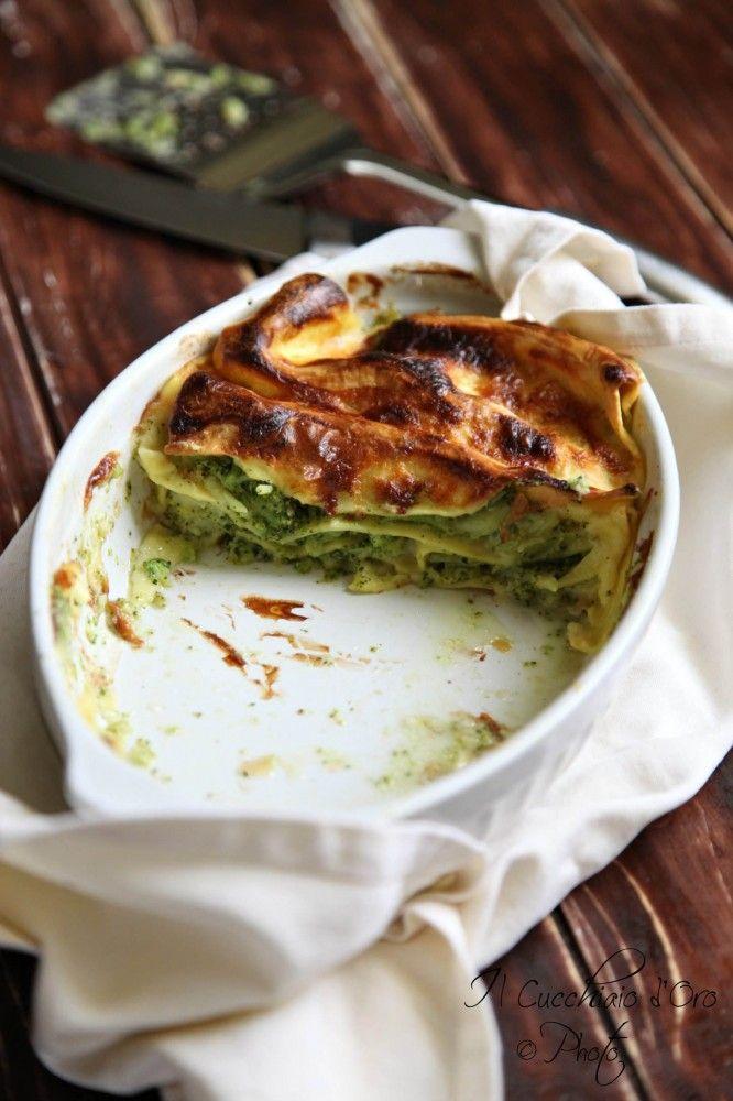 Lasagne stracchino e broccoletti_il cucchiaio d'oro