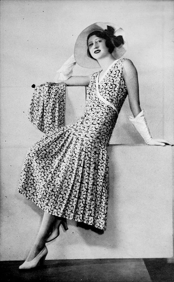 Racing ensemble by Jenny, Les Modes July 1931. Photo by Isabey.: