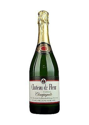 Bottle Stoppers and Corks 63503: Chateau De Fleur Non-Alcoholic Sparkling Wine Champagne No Tax -> BUY IT NOW ONLY: $31.27 on eBay!