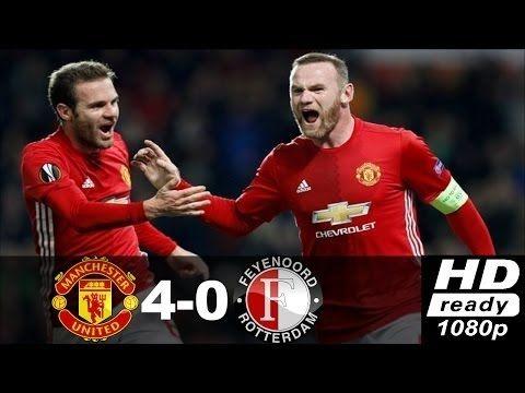 Manchester United vs Feyenoord 4 0 ● Highlights & All Goals ● UEL Novemb...