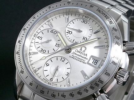 OMEGA オメガ 腕時計 スピードマスター デイト 3211-30