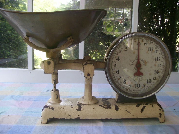 Penn Mfg. / 2 Sided General Store Scale ❤❤