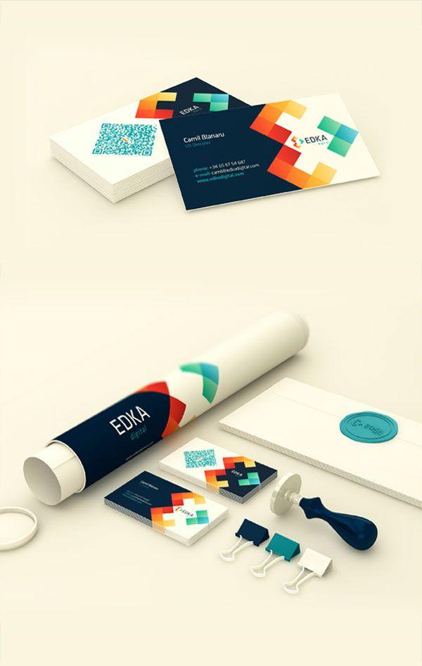 Edka Digital - Brand Identity