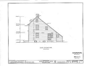 What is a saltbox house? A house with a 'catslide' (hee hee) roofline. (that's nasty) It is a Colonial style of architectu...
