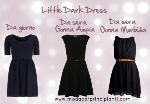 Pear shape Little Black Dress  (Anna Venere, Moda per principianti)